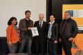 """Verleihung der Urkunde """"Schule ohne Rassismus – Schule mit Courage"""""""